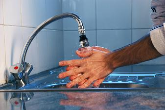 se laver les mains