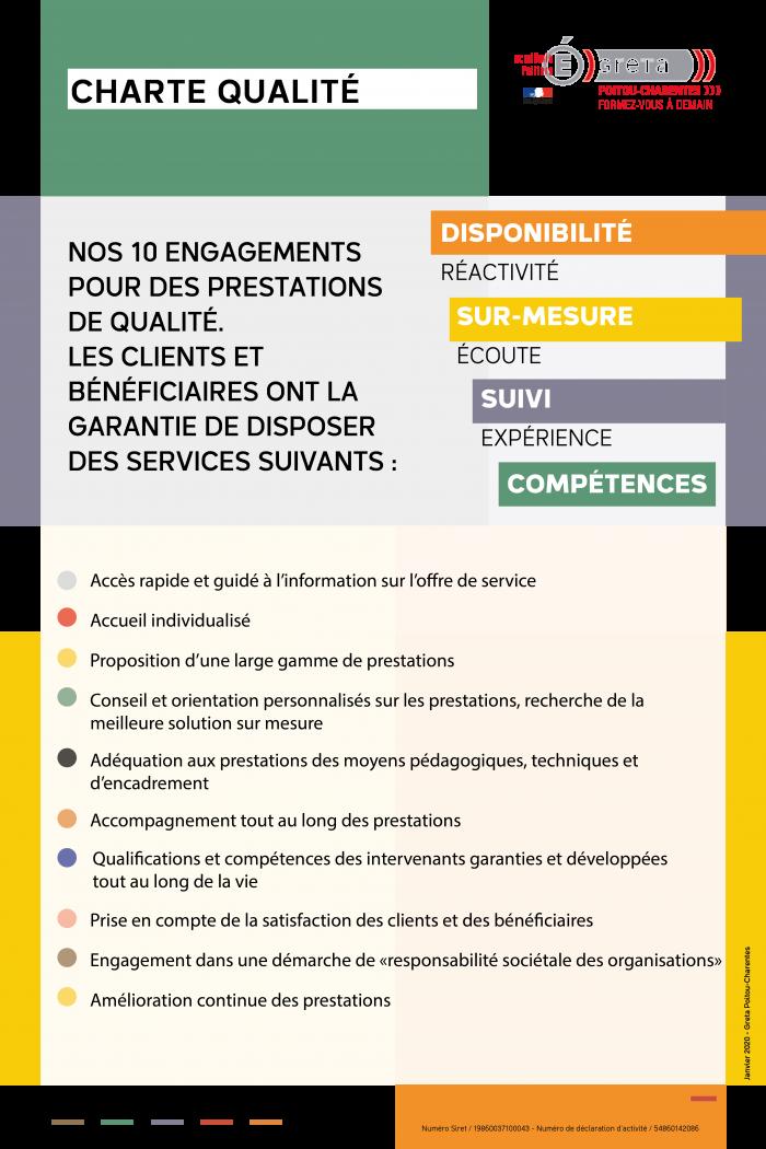 Charte qualité Eduform